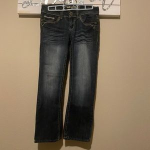 *Hydraulic - distressed jeans